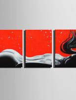 Toile Trois Panneaux Toile Format Vertical Imprimé Décoration murale For Décoration d'intérieur