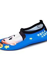 Garçon Chaussures d'Athlétisme Confort Semelles Légères Spandex Eté Automne Athlétique Chaussures d'Eau Talon Plat Bleu Rose Plat