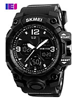 SKMEI  Digital Chronograph Double Time Alarm Watch 50M Watwrproof EL Light Wristwatches Relogio Masculino Sport Watches
