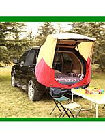 2 personnes Tente Tente pour Pick up Unique Tente de camping Tente pliable Etanche Résistant à la poussière 1000-1500 mm pour Camping /