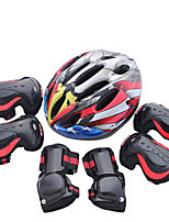 Kids' Adult Protective Gear Knee Pads + Elbow Pads + Wrist Pads for Skateboarding Inline Skates Roller Skates Eases pain Breathable 6 pack