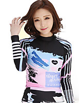 The New Snorkeling Suit Jellyfish Diving Suits Women Long Sleeve Sunscreen Was Thin Swimsuit women