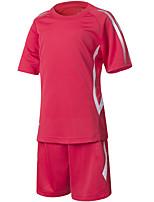 Garçons Football Shirt Confortable Eté simple Polyester Tactel Football