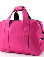 Women Travel Bag Oxford Cloth All Seasons Casual Sports Outdoor Weekend Bag Zipper Fuchsia Dark Blue Red Black