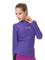 Women's Wind Proof Stretchy LYCRA® Diving Suit Long Sleeve Tops-Swimming Beach Surfing Sailing Watersports All SeasonsSolid Special