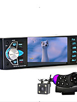 Car Radio Music Player with Rear View Camera Support Bluetooth MP5/MP4/MP3/FM Transmitter Car Video with Remote Control