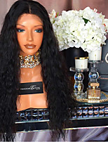 9A Curly Lace Front Human Hair Wigs with Baby Hair 180% Density Brazilian Virgin Hair Kinky Curly Lace Wig for Black Woman