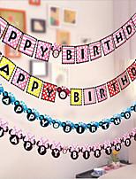 Papel de Cartão Decorações do casamento-1 Peça Aniversário Festa de aniversário