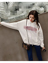 Women's Maternity Daily Fashion Tops Hoodie Solid Slim Hooded Removable Lining strenchy Cotton Modal Polyester Long Sleeve Fall Winter