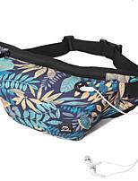 Men Sling Shoulder Bags Canvas All Seasons Casual Outdoor Round Zipper Blue