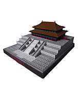 Jigsaw Puzzles DIY KIT 3D Puzzles Building Blocks DIY Toys Famous buildings Chinese Architecture Architecture