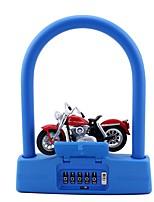 JasitLock 20999 Password Unlocked 5 Digit Password Bicycle Lock Dail Lock Password Lock