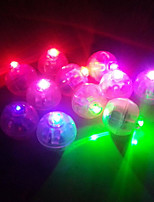 20 Pcs/Group Round White Led Balloon Mini Lamps RGB Color Changing Balloon Lights for Wedding Valentine's Day Party Decoration New