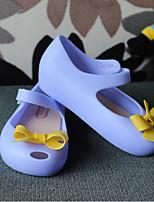 Girls' Sandals First Walkers PU Summer Casual First Walkers Dark Blue Fuchsia Light Purple Blushing Pink Flat