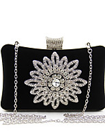 L.WEST Women's fashion flower set auger take dinner at package bag Hand bag