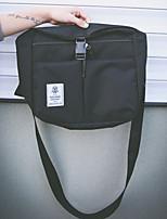 Women Shoulder Bag Canvas All Seasons Casual Flap Zipper Clover Yellow Gray Black Blue