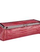 Women Cosmetic Bag PU All Seasons Casual Baguette Zipper Wine khaki Black