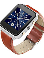 Men's Smart Watch Fashion Watch Digital Water Resistant / Water Proof PU Band Black Brown