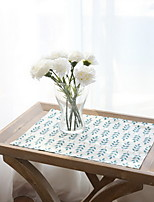 Nordic Simple Green Wheat Cotton And Linen Table Placemat 32*45cm