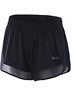 Women's Running Shorts Fitness, Running & Yoga Shorts for Running/Jogging Yoga Exercise & Fitness Loose Black