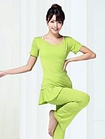 Йога Наборы одежды Влагоотводящие Повседневная Спортивная одежда Жен. Йога Пилатес