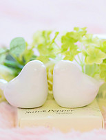 1Set Baby Birds Ceramic Salt & Pepper Shakers in Giftbox Wedding Gift Beter Gifts® 6.5 x 6.5 x 3.5 cm/box