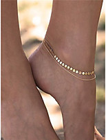 Women's Anklet/Bracelet Copper Iron Fashion Jewelry For Dailywear Daily Casual Casual/Daily