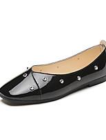 Для женщин Мокасины и Свитер Удобная обувь Лакированная кожа Весна Осень Повседневные Для вечеринки / ужина Для праздника Удобная обувь