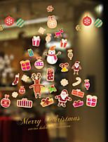 Natal Romance Feriado Adesivos de Parede Autocolantes de Aviões para Parede Autocolantes de Parede Decorativos MaterialDecoração para