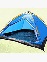 3-4 persons Tent Camping Tent Automatic Tent Keep Warm for CM Stretch Satin Padded Fabric
