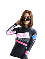 Diving Suit Female Jellyfish Clothes Sunscreen Snorkeling Long-Sleeved Swimsuit Surfing Suit Female Swimming