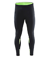 Men's Running Pants Fitness, Running & Yoga Pants/Trousers/Overtrousers for Yoga Running/Jogging Exercise & Fitness Tight Black Green
