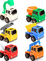 Toys Plastics Construction Vehicle 6Pcs