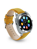 Hombre Reloj de Moda Digital Resistente al Agua PU Banda Negro Marrón Color Beige