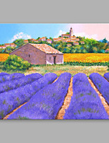 IARTS® Hand Painted Oil Painting Vintage Provence Cottage Abstract Art Acrylic Canvas Wall Art For Home Decoration