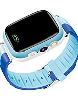 Детские Смарт-часы Модные часы Цифровой Защита от влаги Pезина Группа Синий Розовый