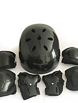 Kids' Protective Gear Knee Pads + Elbow Pads + Wrist Pads Skate Helmet for Cycling Ice Skating Skateboarding Inline Skates Roller Skates