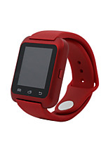 Men's Fashion Watch Digital Water Resistant / Water Proof Rubber Band Black White Red