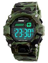 SKMEI Homens Relógio Esportivo Relógio Militar Relógio de Moda Relógio de Pulso Relogio digital Japanês DigitalLED Calendário Impermeável