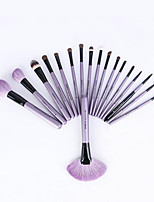 1set Makeup Brush Set Horse Professional Full Coverage Wood Face