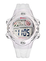 Kid's Sport Watch Fashion Watch Digital Water Resistant / Water Proof Rubber Band White Red Purple