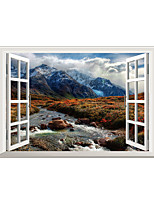 Wall Stickers Wall Decals Creative Mountain PVC Wall Stickers