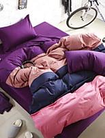Цветовые блоки 4 предмета 1 пододеяльник 2 декоративных чехла 1 Простынь