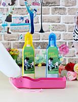 Кошка Собака Миски и бутылки с водой Животные Чаши и откорма Цвет отправляется в случайном порядке