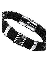 Homme Chaînes & Bracelets Mode Acier au titane Forme de Cercle Bijoux Pour Soirée Anniversaire