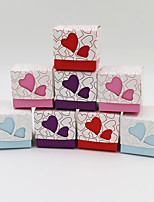 50 Piece/Set Favor Holder-Cubic Card Paper Gift Boxes