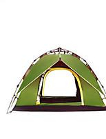 3 a 4 Personas Tienda Doble Carpa para camping Tienda de Campaña Automática Resistente a la lluvia para Camping y senderismo CM Otros