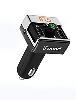 Automatique V4.0 Kit Piéton Bluetooth Mains libres de voiture Port USB
