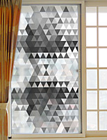 Window Film Window Decals Style Modern Geometry PVC Window Film
