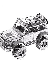 Puzzles Kit de Bricolage Puzzles 3D Puzzles en Métal Blocs de Construction Jouets DIY  Camion Aluminium